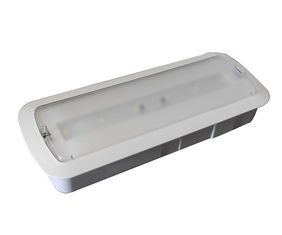 Wall Recessed Battery Powered Rechargeable Emergency Light 220V - 240V 50Hz / 60Hz