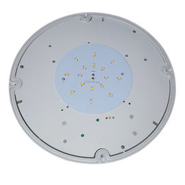 Commercial Building Round Waterproof Emergency Light Maintained With PC Diffuser